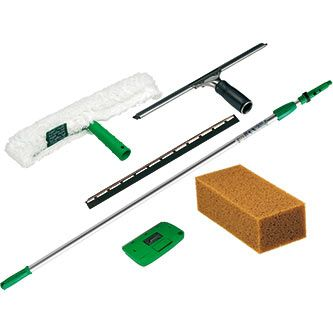 Unger Pro Glass Cleaning Set